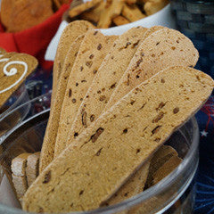 Savory Liver and Bacon Biscotti