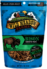 Bison Bites Handcrafted Treats 4 oz