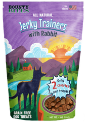 Bounty Bites Jerkey Trainers with Rabbit 4 oz