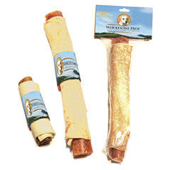 Wholesome Hide Rawhide Chews - Pork Retriever Roll
