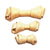 Wholesome Hide Rawhide Chews - Flat Knot Bones