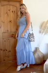 LYLA Light Blue Maxi Dress