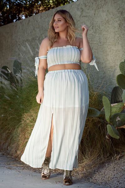 BILLIE Sage Green Two Piece