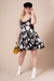 MIA Black Floral Print Dress