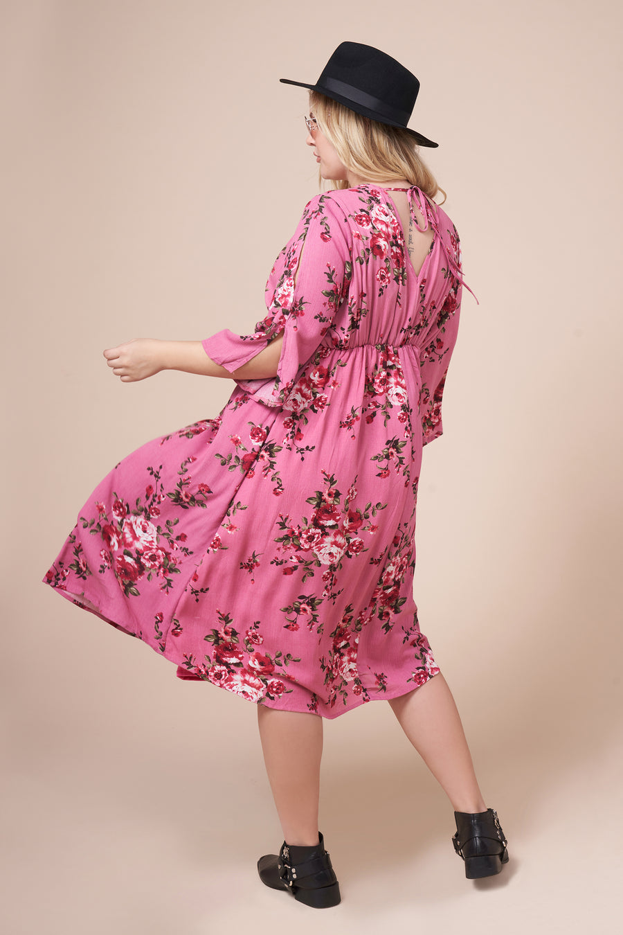 CHLOE Floral Dress