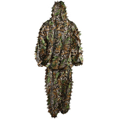 Hunting Ghillie Bionic Suit Set Woodland Hunting Camo