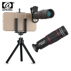 APEXEL APL - T18ZJ 18X Optical Zoom Telephoto Telescope