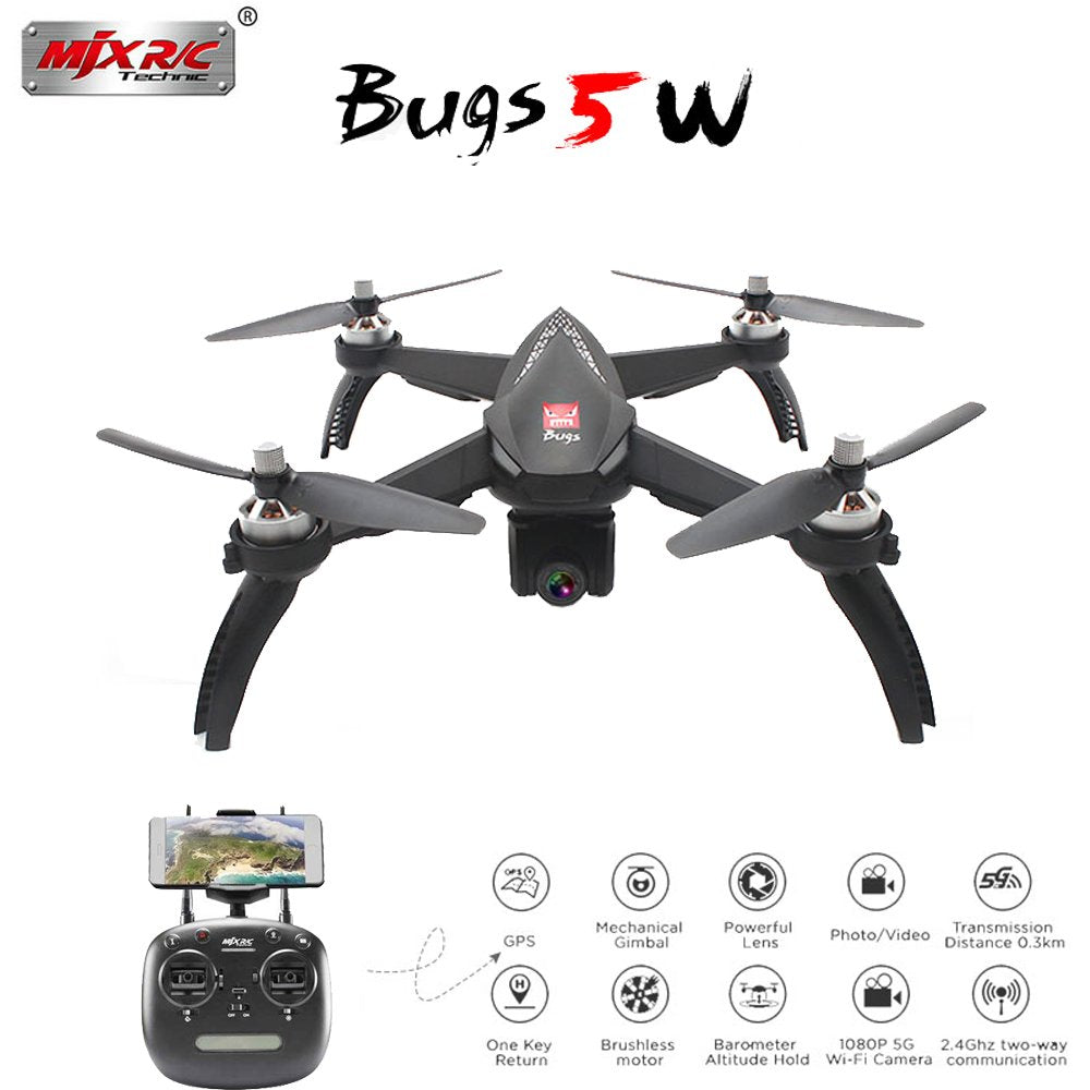 MJX Bugs 5W B5W GPS RC Drone with WIFI FPV 1080P HD Camera