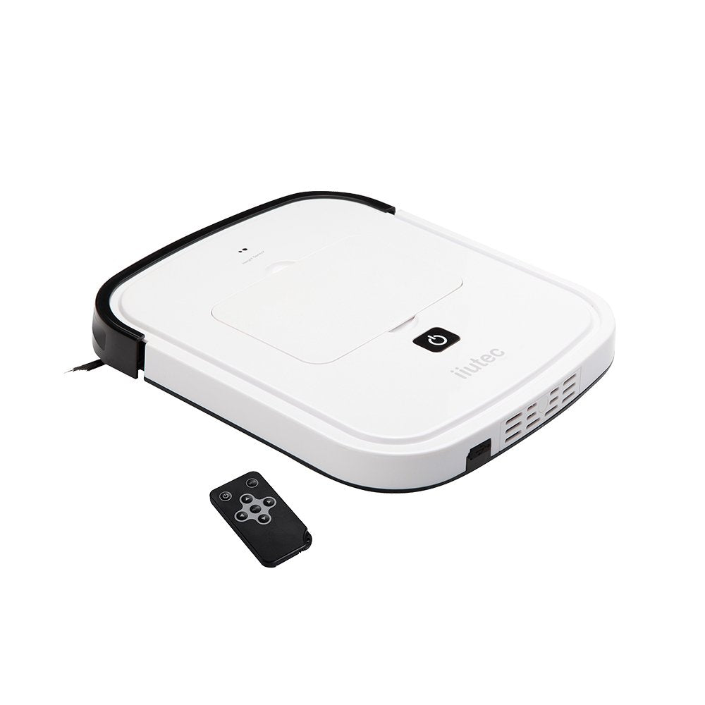 iiutec R-Cruiser Ultra Slim 2.95CM Robotic Vacuum Cleaner Sweeping Robot White
