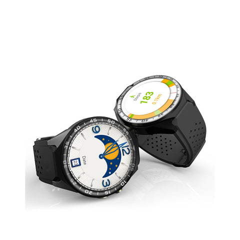 ZGPAX S99C Android Watch - Bluetooth 4.0, WiFi, 3G, 1 IMEI, Mic And Speakers, Pedometer, 5MP Camera, Quad-Core CPU
