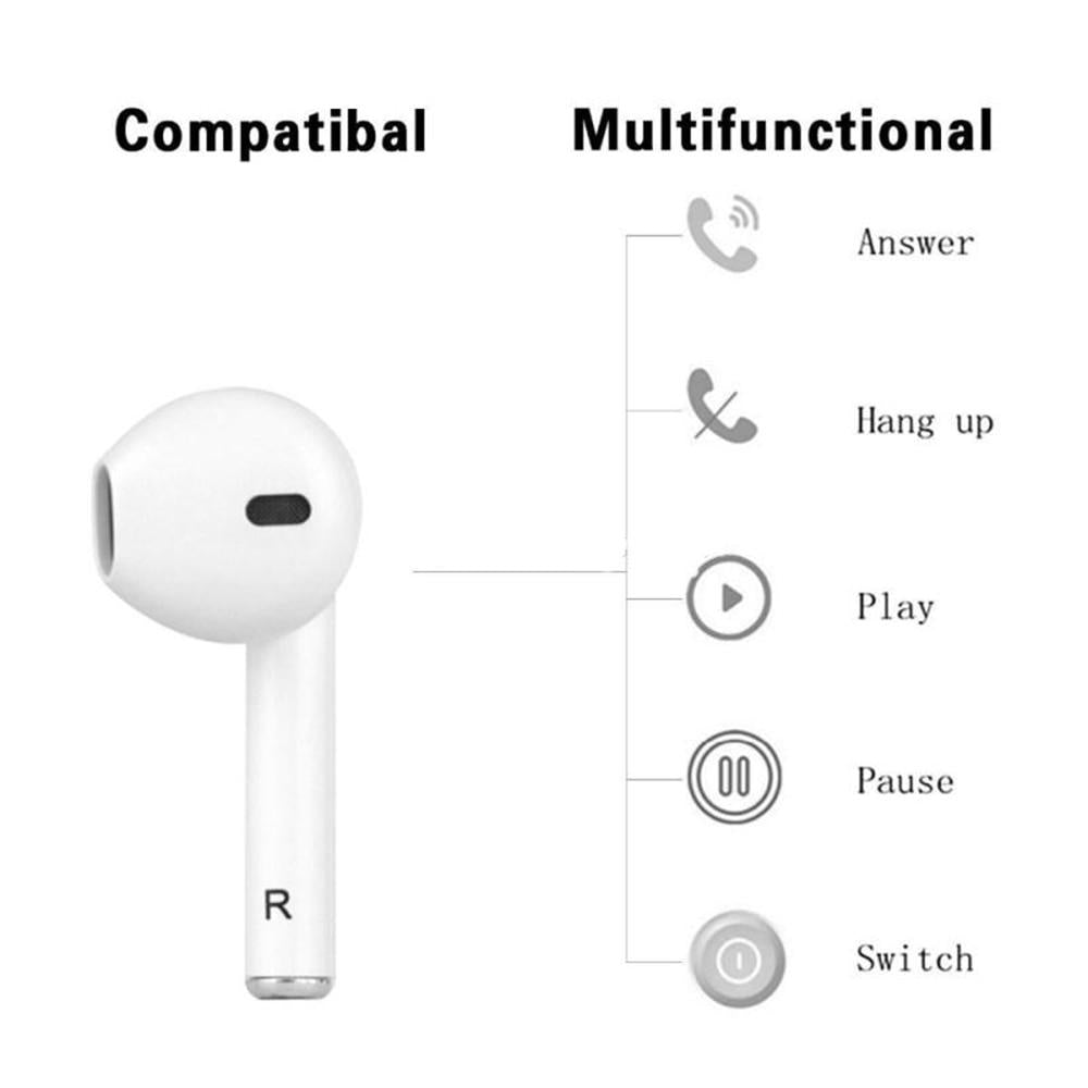 Apple Earpods Wireless Earbuds Bluetooth Headphones