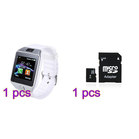 Consumer Electronics - Bluetooth Smart Watch DZ09 Smartwatch GSM SIM Card With Camera For Android IOS Phones