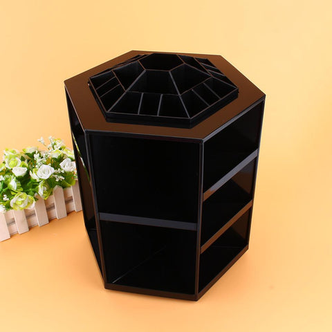 360 Degree Rotating Cosmetic Makeup Organizer