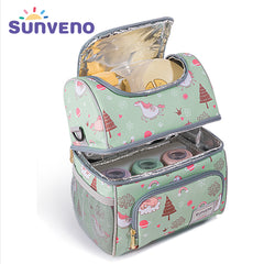 SUNVENO Zoo Unicorn Pattern Thermal Bag for Bottles