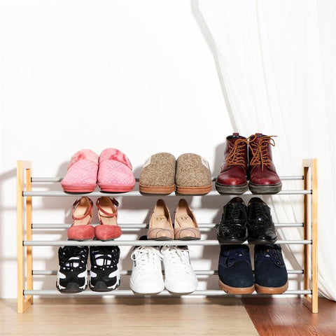 3-Tier Expandable Shoes Storage Organizer