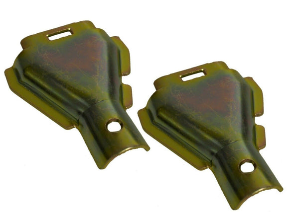 2 x Brake cover plates (hals shell)