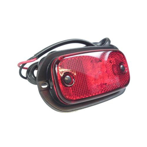 Perei 12/24v Red LED Rear Marker Lamp