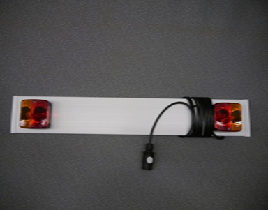 Trailer Light Board - 3ft (0.915M) with 4m Cable