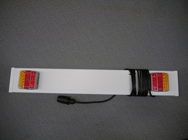 Trailer Light Board - 3ft (0.915M) with 4m Cable *** LED LAMPS ***