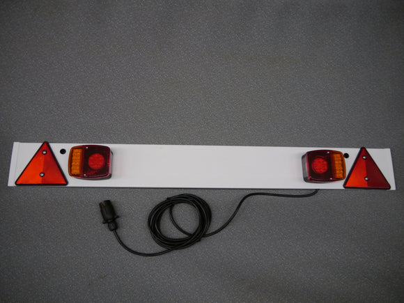 Trailer Light Board - 4ft (1.215m) with 5m Cable ***LED LAMPS***