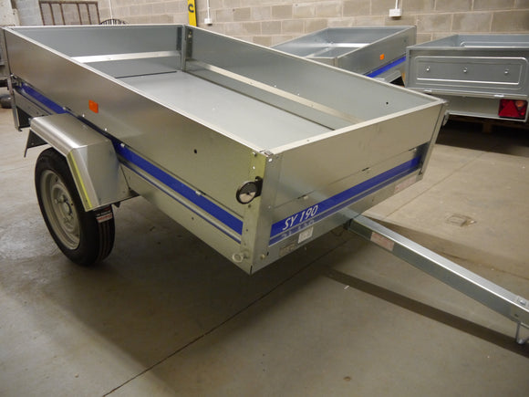 6.2ft x 3.10ft Trailer - Car Trailer
