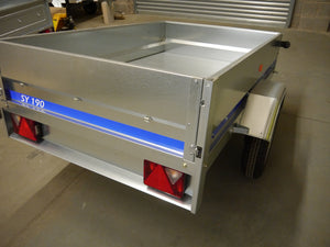 6.2ft x 3.10ft Trailer - Hire Trailer