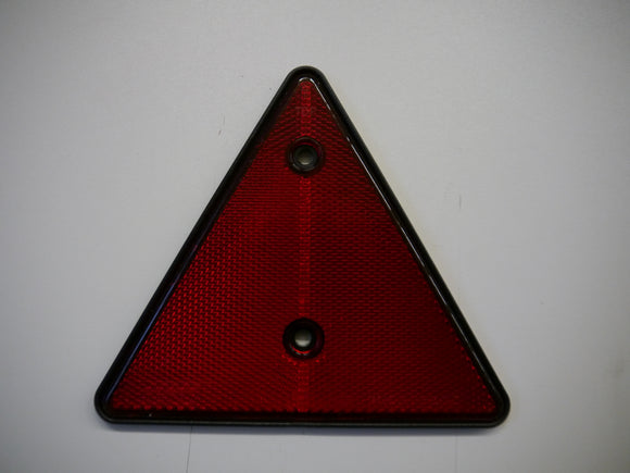 Triangle Reflector - Red