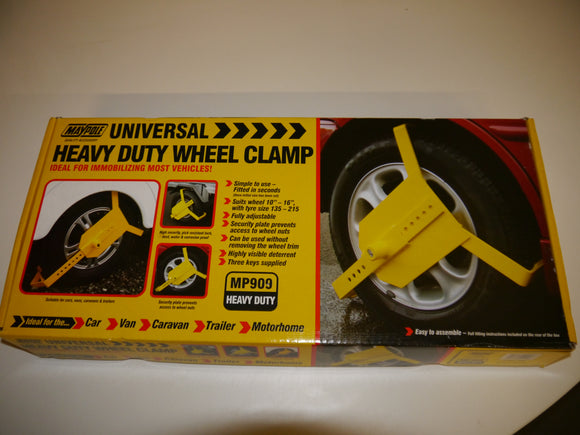 Heavy Duty Wheel Clamp 10