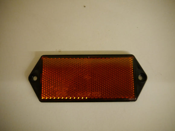 Amber Reflector with Fixing Holes