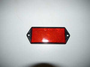 Red Reflector with Fixing Holes