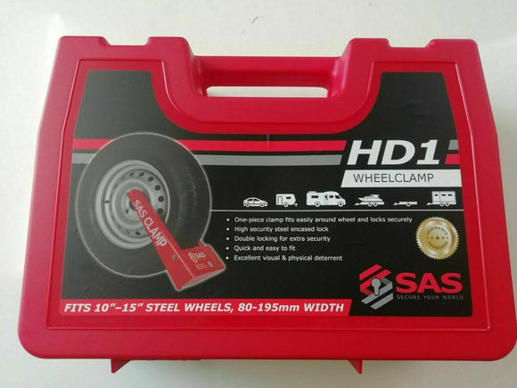 HD1 SAS WHEEL CLAMP TO FIT 80 - 195MM WIDTH 10