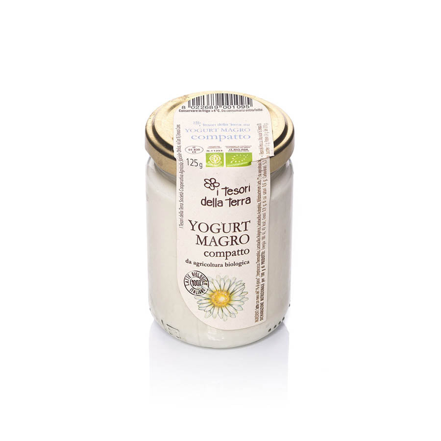 I Tesori della Terra - Organic Plain Yogurt - 125ml