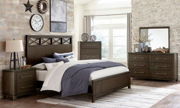 Griggs Collection 4pc Queen Bedroom Set
