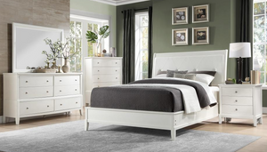 Cotterill Collection 4pc Queen Bedroom Set White