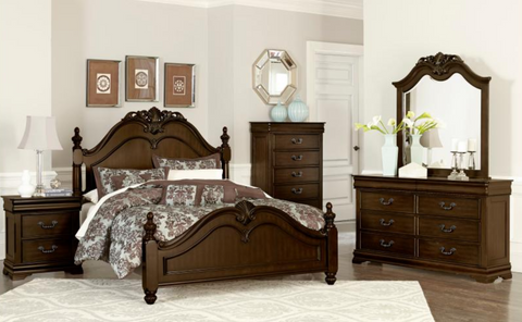 Mont Belvieu Collection 4pc Queen Bedroom Set