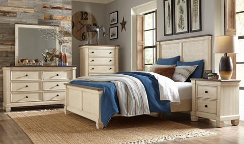 Weaver Collection 4pc King Bedroom Set