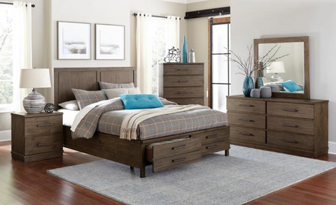 Bracco Collection 4pc King Bedroom Set