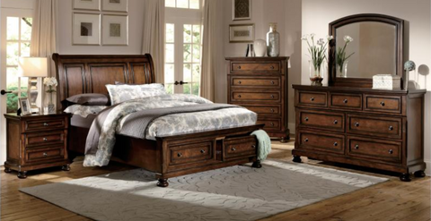 Cumberland Collection 4pc Queen Bedroom Set