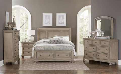 Bethel Collection 4pc Queen Bedroom Set