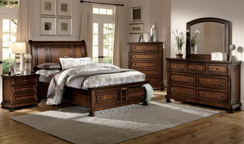 Cumberland Collection 4pc King Bedroom Set
