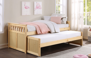 Bartly Collection Twin Trundle Bed