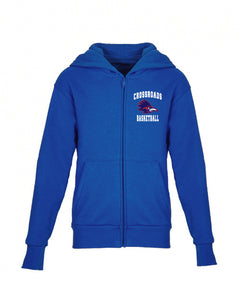 Crossroads YOUTH Zipper Hoodie