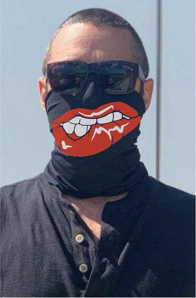 Bandit Mask- Biting Lip