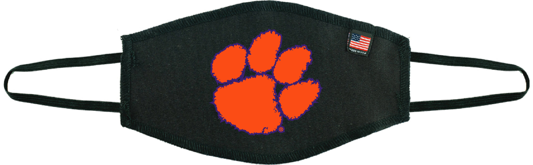 Clemson University Tiger Paw - Black