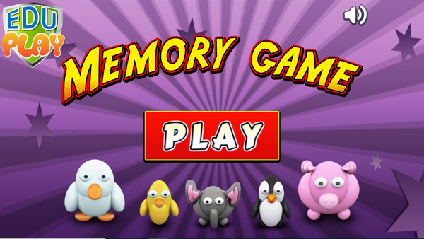 FUN MEMORY Smart Game. Educational Game to Stimulate Early Learning!