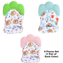 Multi-purpose Newborn Teething Mittens, Baby Gloves, hand-protectors