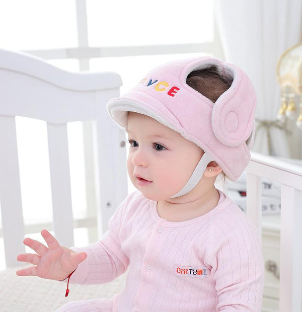Baby's Safety Helmet - Cushioned Bumper Head Protection