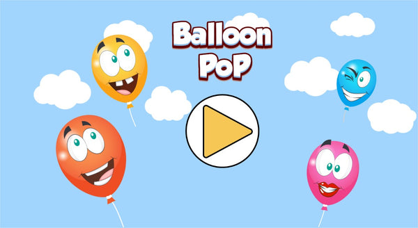 Balloon Pop - Online Kids Game for Enhancing Toddlers Motor Functions