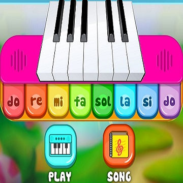MY FIRST PIANO Early Learning Phonics Keyboard! Fun Music Game FOR KIDS