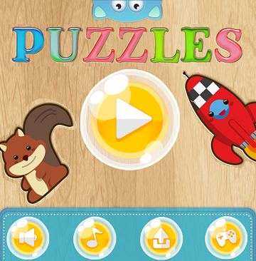 FUN Early Learning PUZZLES. EduPLAYtional Smart Games Online FOR TODDLERS